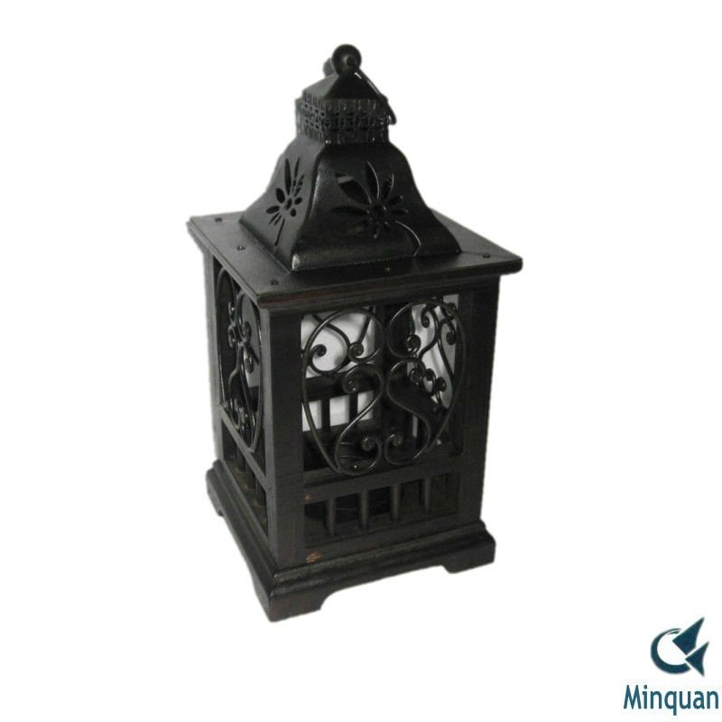 Cast iron garden lantern candle lanterns