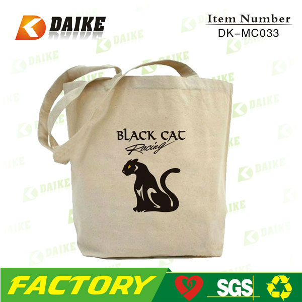 Reusable Customized Cotton Monk Bag Factory OEM