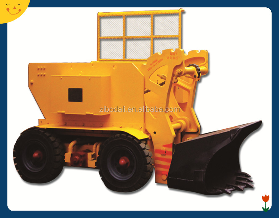 Z series tunnel mucking machine electric rocker shovel loader