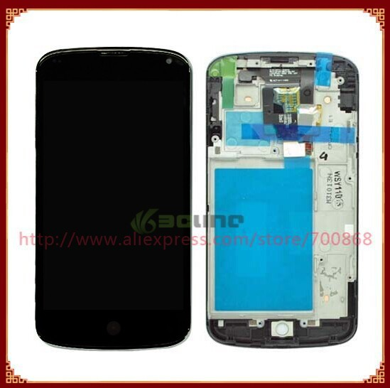 2019 Wholesale 100% Guarantee For LG Optimus E960 Google Nexus 4 LCD Screen  With Touch Screen Digitizer + Frame Assembly From Phonebuy, $64 43 |