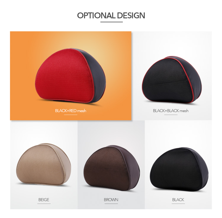 Hot Sale Car Neck Headrest Pillow, Cute Custom Seat Memory Foam Car Neck Pillow