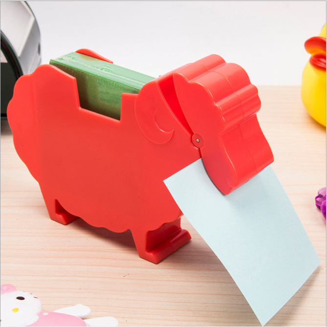 Multifunctionele dier memo houder sticky note