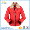 Export Items Wholesale Market Womens Stylish Leather Jacket 2016 Out Door Winter PU Jacket With Fur For Women