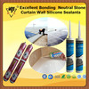 Excellent Bonding Neutral Stone Curtain Wall Silicone Sealants