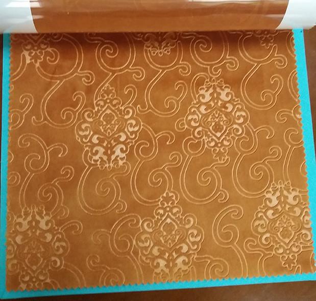 Wholesale Minky Embossed Velvet Upholstery Fabric For Sofa Cushion