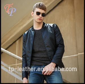 Unique Cheap Wholesale PU Leather Motocycle jacket for men