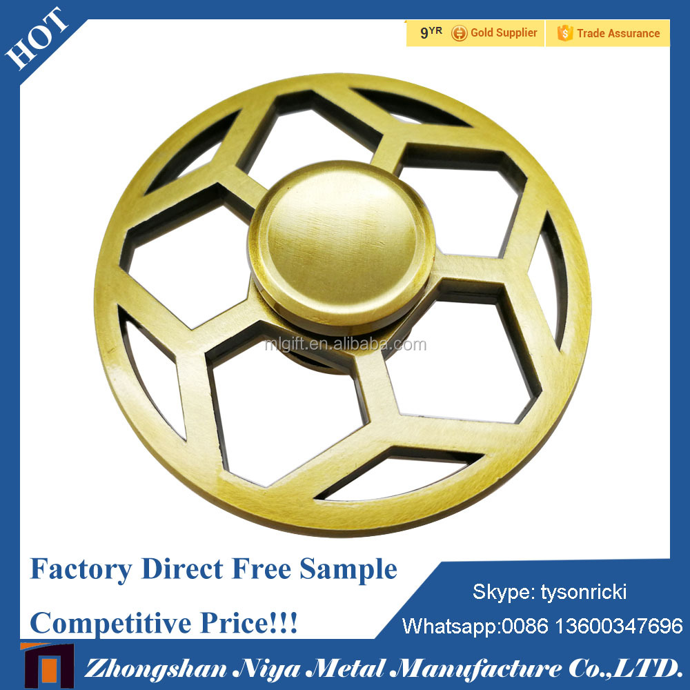 Hight Quality Relieve Stress Stainless Steel Wind Spinner Craft