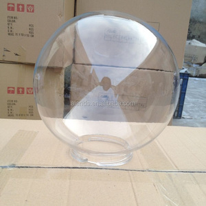 Acrylic plastic outdoor light cover Acrylic Sphere for lampshade clear white