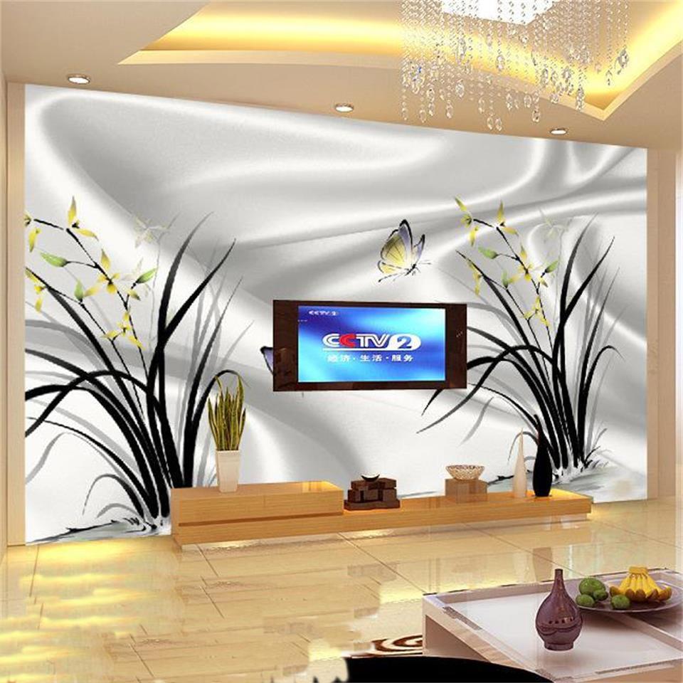 Wholesale Home Decor Online: Wholesale-3D Photo Wallpaper Mural Home Decor Background