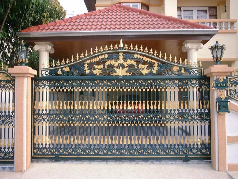 2014 Modern Indian House Main Gate Designs