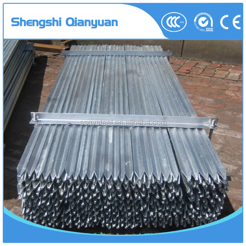galvanized fence posts / steel Y type fence posts