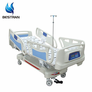 BT-AE001 cheap 5 functions ICU electric medical beds for sale