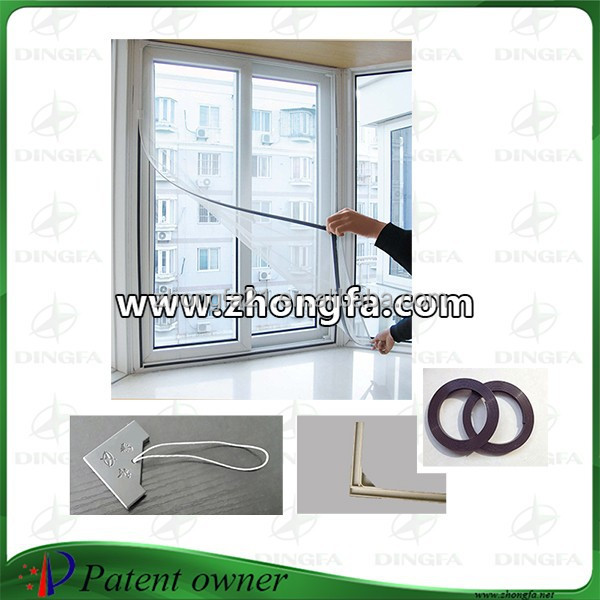 Chinese Curtain Decorative Mosquito Net Design Windows for Homes