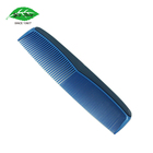 Quality Hair Hairdressing Blue Soft Injection Plastic Comb