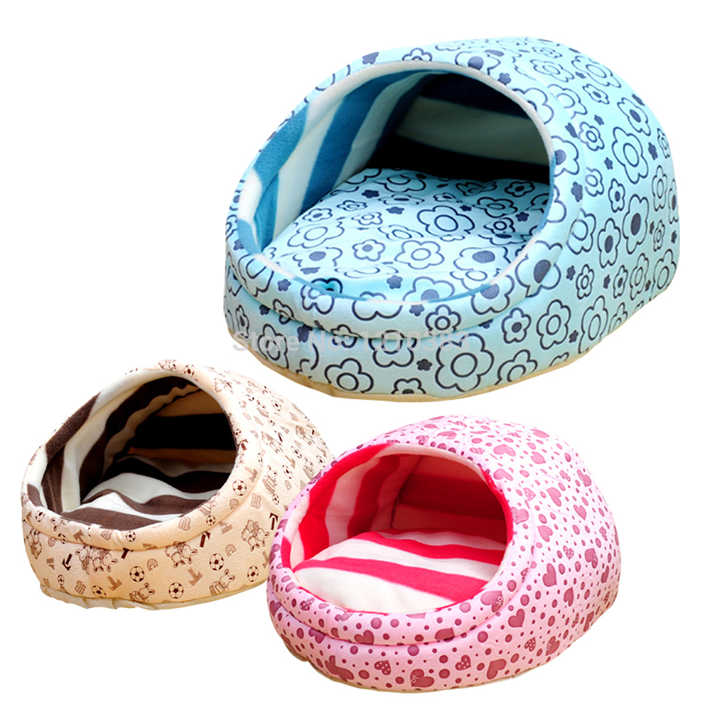 3 Colors Sweety Slipper Style Dog Pet House Pet Bed Kennels Pet Sleeping Kennels