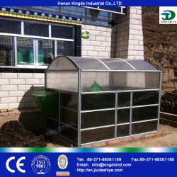 Small Biogas Plant Family Use Organic Waste Reuse Bio gas Tank