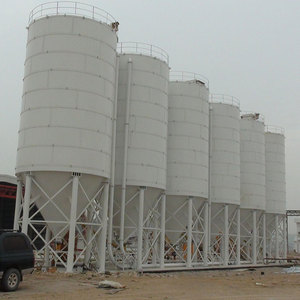 Factory Supply grains storage hopper bottom metal steel silo