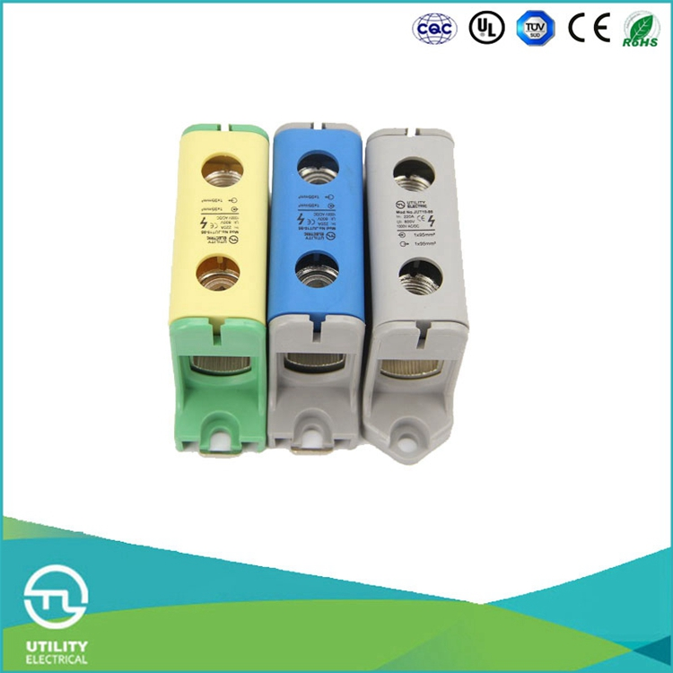 UTL High Current Large Power Aluminum series Distribution Electric Terminal Block 800V