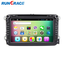 Touch screen android skoda car audio system