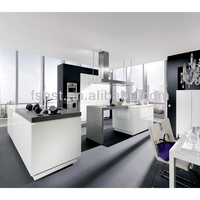 Kitchen cabinet company design for project kitchen in Foshan