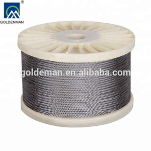 Hot product 8x19 elevator steel wire rope