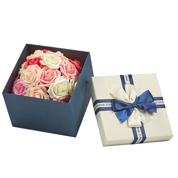 Dongguan regalo contenitore di monili di grandi dimensioni grigio rosso rosa colore personalizzato cartone legno favori di nozze regalo