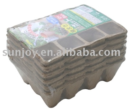 paper flower pot ( seed pot ) Nursery site 12 Cells
