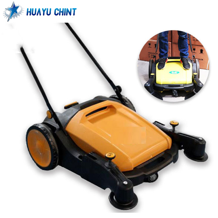 40L capacity cleaning auto floor machine manual carpet sweeper