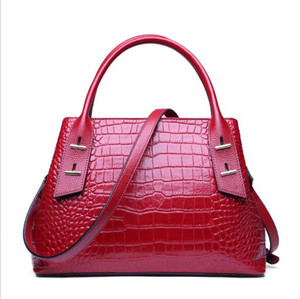 2019 china online shopping genuine leather bags women leather tote bags for women