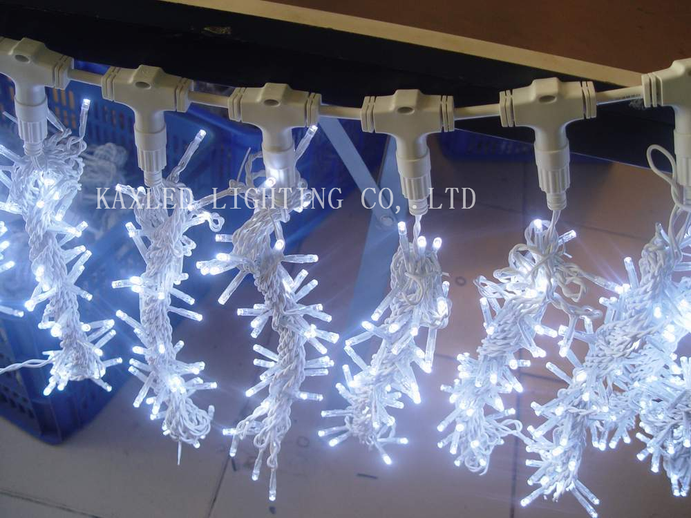 connectable led curtain lightled christmas lightsled holiday light for window decoration - Waterfall Christmas Lights