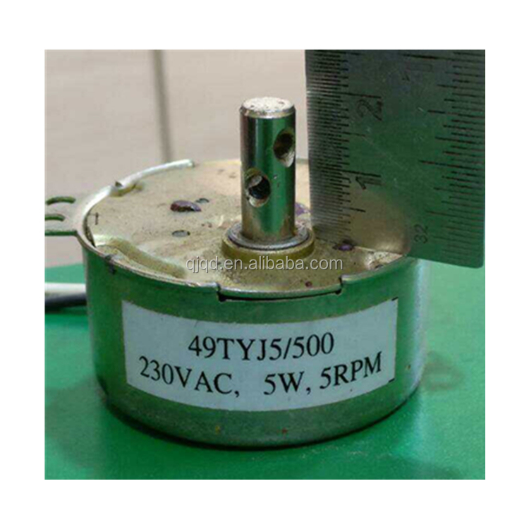 Microwave Turntable Synchronous Motor 220V 4W 4//6 RPM