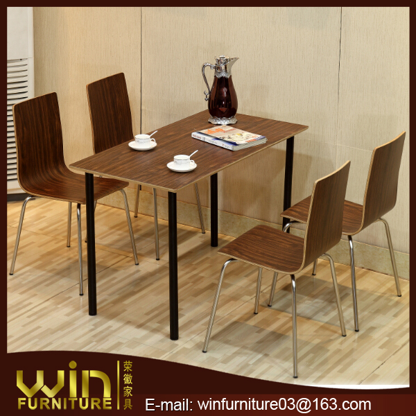 restaurant dining tables and chairs fast food furniture room set up supply