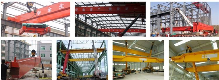LH model Double Girder Electric Overhead Crane
