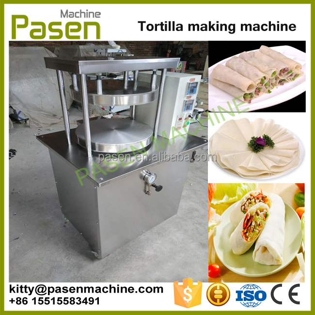 Electric pancake maker machine / Roasted duck bread making machine