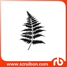 Stencils Fern Leaves - Reusable plastic drawing stencils for DIY decor, crafts, fabrics