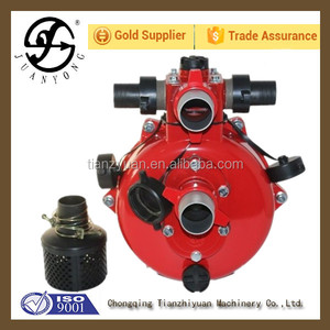 2 inch fire-fighting water pump with twin impellers