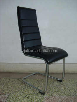 Hot Selling Germany Furniture Dining Room Leather Chair Metal For Dinner