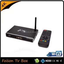 2016 best iptv 4K HD russian internet tv box F8 with 8GB flash 2GB RAM
