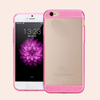 Glisten Design Light Weight Clear Plastic Cell Phone Case for iphone 6 with TPU Bumper