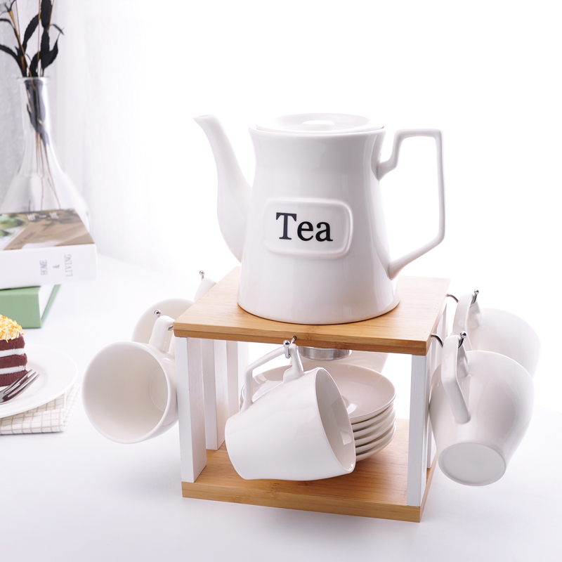 CTS-039 Hot Sale Vintage White <strong>Porcelain</strong> ceramic bone china Embossed Gold plated coffee <strong>set</strong> <strong>tea</strong> <strong>set</strong>