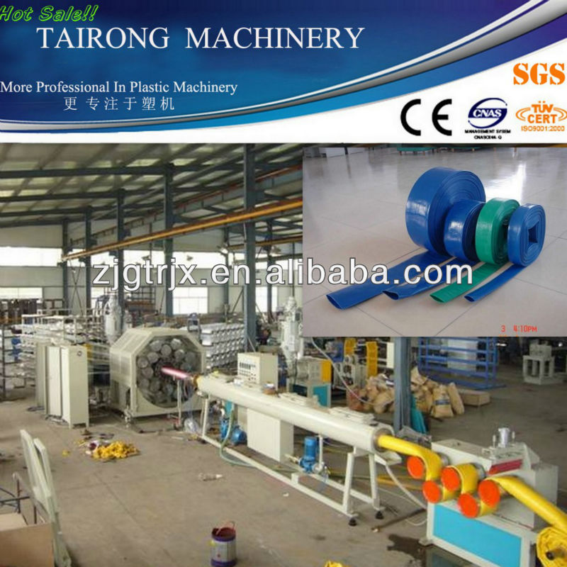 China beste! Rubber/pu brandslang machine plastic Machie