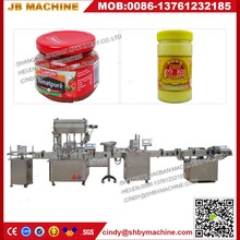High speed automatic big can strong sauce filling machine with CE Certification