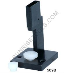 Ring stamping device for square stamps with two nylon anvils,Jewelry Tools