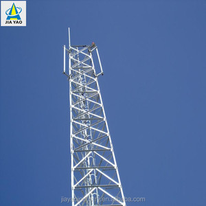 Punching and welding 40 meter communication tower