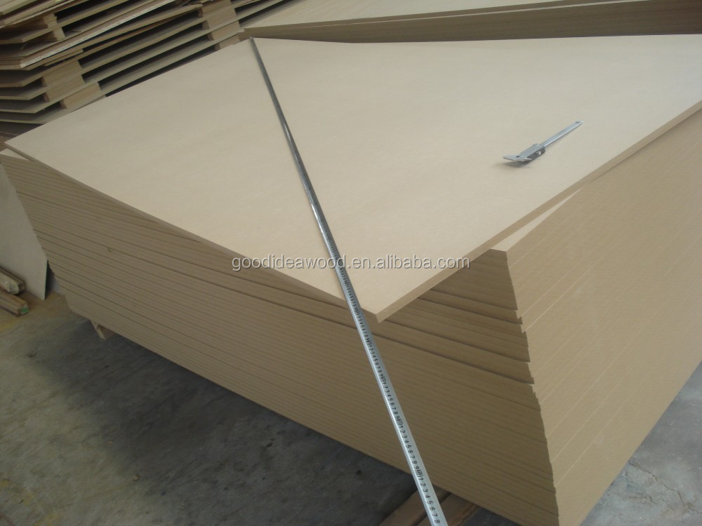 1220*2440mm size China Factory directly offer Raw /Plain MDF