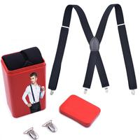2018 Hot sale fashion mens X back suspenders