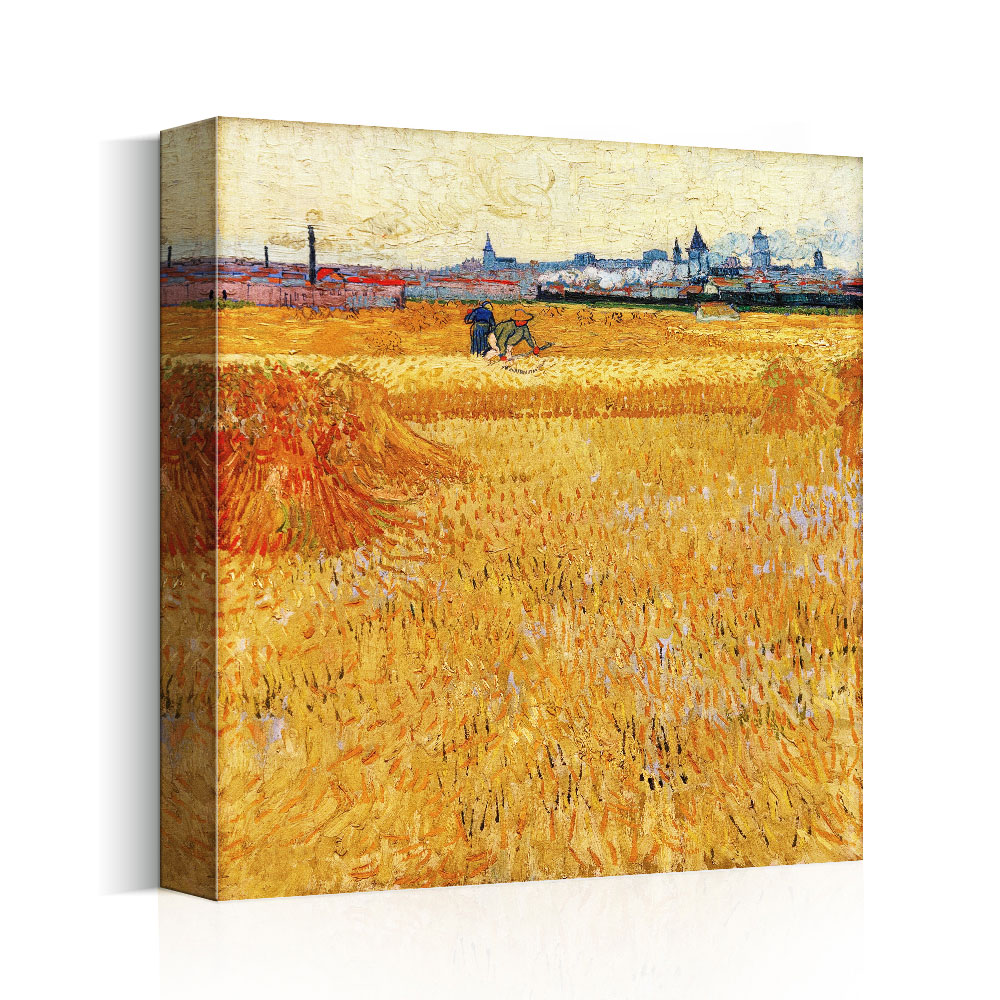 Impressionist Canvas Painting Home Decor Autumn Scenery Oil Painting on canvas