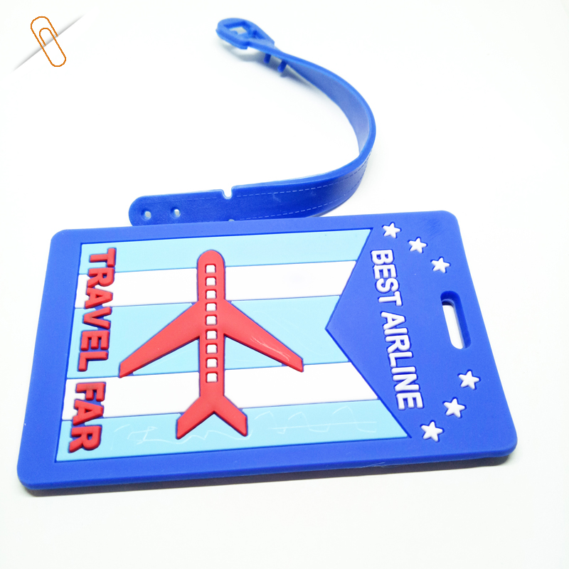 buy airline luggage bag identification tags standard size for sale