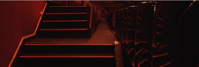 Cinema Step Light Stair Nose/theater Step Lighting With Led