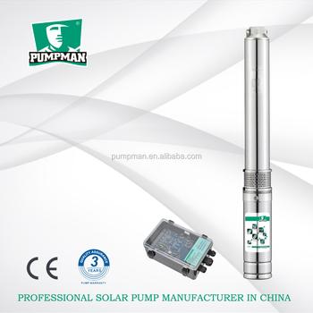 Pumpman China Manufacturer Dc Brushless Motor Solar Water